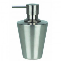 SPIRELLA Distributeur de savon Max Light - Acier inoxydable 14,5x9x8,5cm -