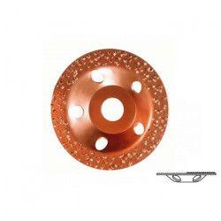 BOSCH Meule assiette au carbure - 115 x 22 -23 mm - Grain grossier - Plate