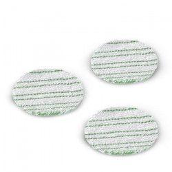 KÄRCHER Lot de 3 pads lustrants pour sols stratifiés