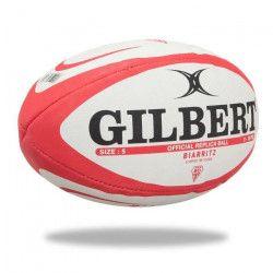 GILBERT Ballon de rugby REPLICA - Biarritz -Taille 5