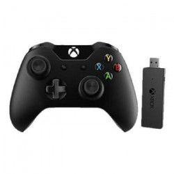 Manette Xbox One + Adaptateur sans fil pour Windows