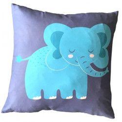 Coussin Elephant - 50x50cm