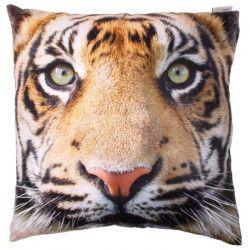 Housse et Coussin photo de tigre - 50x50cm