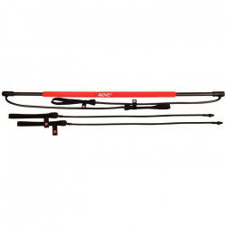 AVENTO Barre d`entrainement fitness - Rose