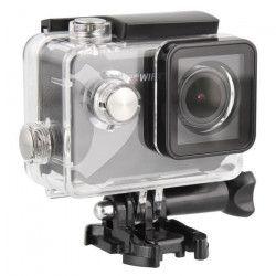 T`nB SPCAMWIFI2 Caméra sport WiFi Full HD 1080p - 15 accessoires fournis - Noir et gris