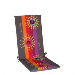 JARDIN PRIVE Coussin pour fauteuil multipositions AMALIA Rouge 113x44x5cm