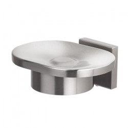 SPIRELLA Porte-savon avec support Nyo - 11,5x10x4,5cm - Brossé