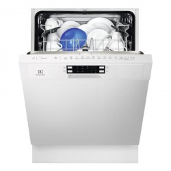 ELECTROLUX ESI5511LOW - Lave-vaisselle encastrable 60cm 13 couverts A+ Bandeau blanc