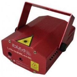 IBIZA LIGHT LAS-S130RG-M-RE Mini effet laser firefly rouge / vert 100+30mw