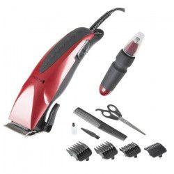 BLACK PEAR BTN 367 Kit Tondeuse électrique nez, oreilles et cheveux - Rouge