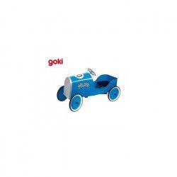 GOKI Voiturea pédales- Grandracer - Bleue