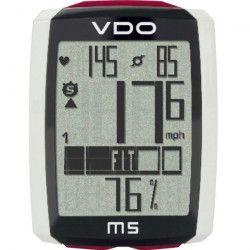 VDO Compteur vélo digital - Sans fil - M5 Wl - 4 x 1 x 5,5 cm - Noir