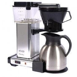 MOCCAMASTER Cafetiere filtre - Aluminium poli
