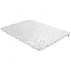 EPEDA Sur-matelas 180x200 - Garnissage 100% latex - Moelleux - LATEX