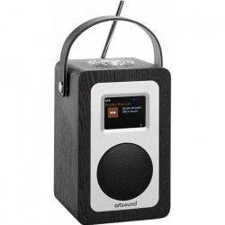 ARTSOUND R4B Radio portable - Noir - Wifi, Internet, FM & DAB+