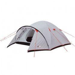 WILSA Tente Corte - 3 places - Gris et rouge