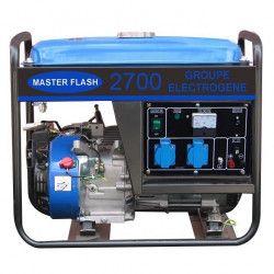 MASTER FLASH Groupe électrogene 2200 W - Moteur essence 4 temps - Réservoir 15 L