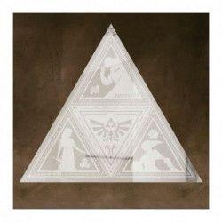 Miroir Zelda Logo Triforce