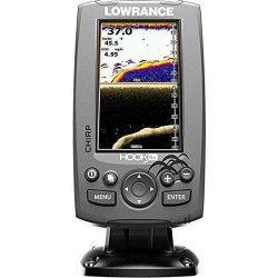 LOWRANCE Sondeur Hook-4x CHIRP Sonde TA 83/200/455/800 kHz