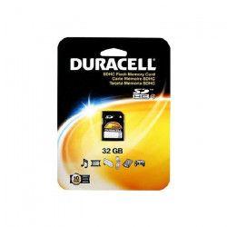 DURACELL Carte micro sd 32gb class 4+adaptateur