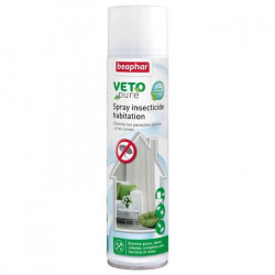 BEAPHAR Spray insecticide Vetopure - Pour chien et chat - 400ml