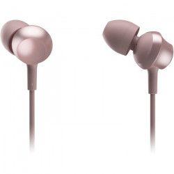 PANASONIC TCM360 Écouteurs intra-auriculaires - Micro avec bouton de prise d`appel - Rose