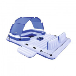 BESTWAY Salon flottant Tropical Breeze avec accessoires