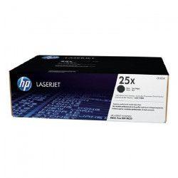 HP Pack de 1 Cartouche de Toner 25X Original - Noir - 34 500 pages