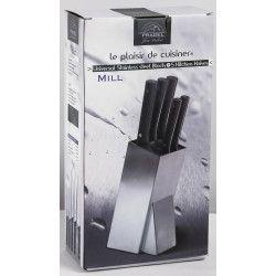 JEAN DUBOST Bloc universel + 5 couteaux Mill Chef