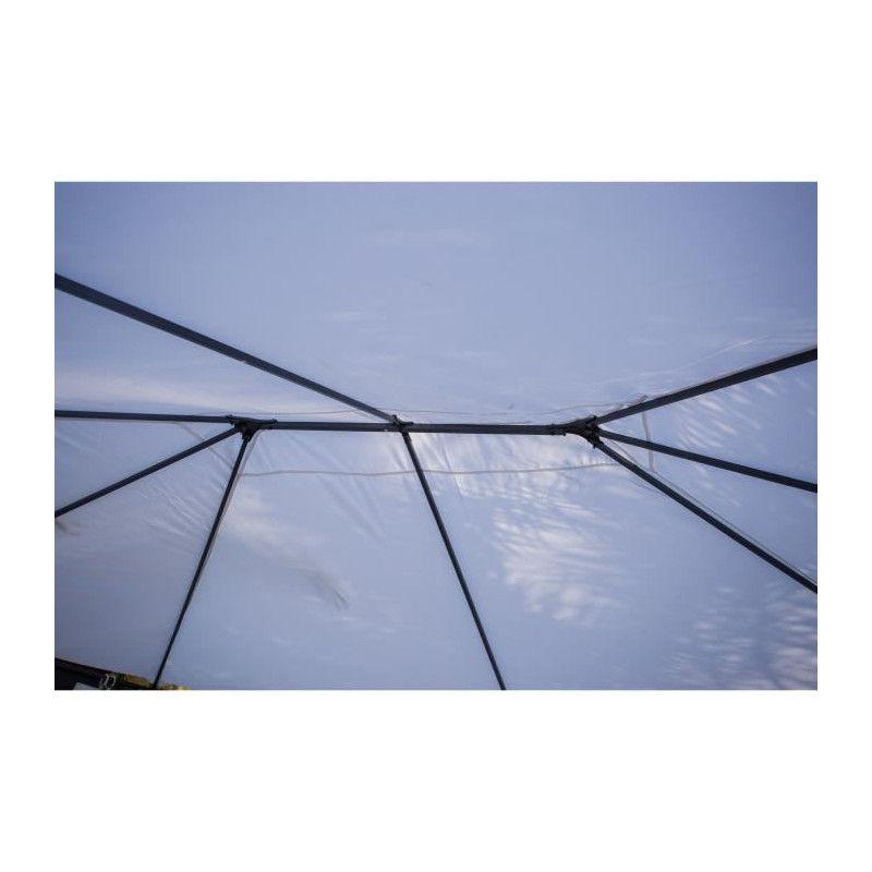Thai Tonnelle De Jardin 3x4 M Avec Rideaux Inclus
