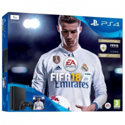 Nouvelle PS4 Slim 1 To + FIFA 18 Jeu PS4