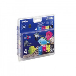 Brother LC1000 Cartouches d`encre Multipack Couleu