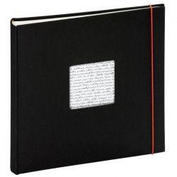 PANODIA Album photo traditionnel Linea - 60 pages - 30 x 30 cm - Noir