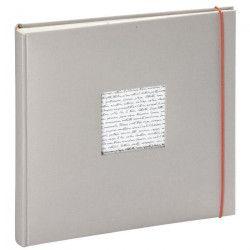 PANODIA Album photo traditionnel Linea - 60 pages - 30 x 30 cm - Gris