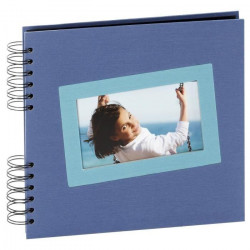 PANODIA Album photo traditionnel Tais - 40 pages - 25 x 23 cm - Bleu