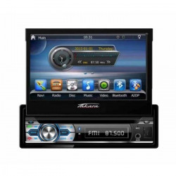 TAKARA GPV1827BT Autoradio 2DIN DVD GPS USB Bluetooth - autoradio double din
