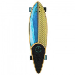 KRYPTONICS Skateboard Longboard Pintail Weaved 37``