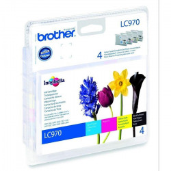 Brother LC970 Cartouches d`encre Multipack Couleur