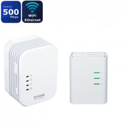 D-LINK Kit avec 2 Mini adaptateurs CPL - DHP-W311AV - Homeplug AV 500Mbps