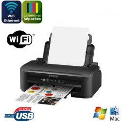 EPSON Imprimante WorkForce WF-2010W - jet d`encre 4 couleurs - Ethernet + Wi-Fi - Interface USB2.0