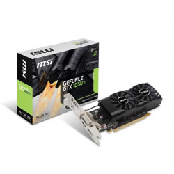 MSI Carte graphique GeForce GTX 1050 Ti 4GT LP - 4Go - GDDR5