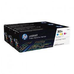 Toner HP LaserJet 305A - 3 Couleurs (CF370AM)
