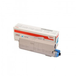OKI Cartouche toner 46490607 - Compatible C532/MC573 - Cyan