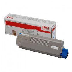 OKI Cartouche toner 44315307 - Compatible C610 - Cyan - Capacité standard 6.000 pages