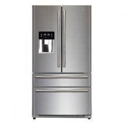 HAIER B22FSAA - Réfrigérateur multi-portes - 522L (387+135) - Froid ventilé - A+ - L 91cm x H 178cm - Silver