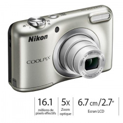 NIKON COOLPIX A10 Gris Appareil photo compact