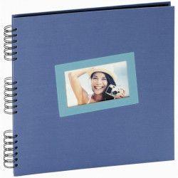 PANODIA Album photo traditionnel Tais - 60 pages - 30 x 30 cm - Bleu