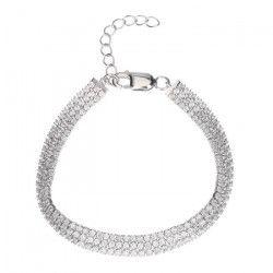 ELENA NOTTI Bracelet Argent 925° et Oxydes de Zirconium Femme