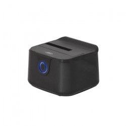 Advance Station d`accueil Single Dock - Pour disque dur - HDD - USB 3.0 - Noir
