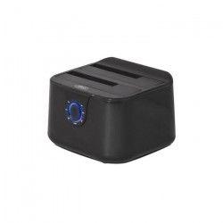 Advance Station d`accueil Dual Dock - Pour disque dur - HDD - USB 3.0 - Noir